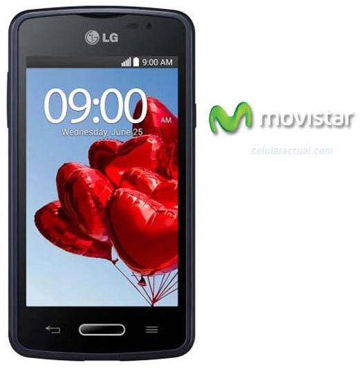 LG L50 en México con Movistar