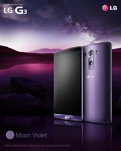 LG G3 Moon Violet