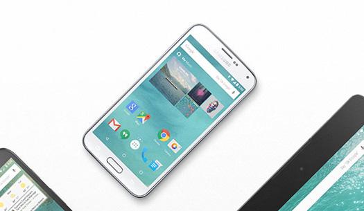Galaxy S5 con Android 5.0
