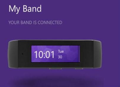 "Microsoft Band ""My band"" Mac SYNC tool"