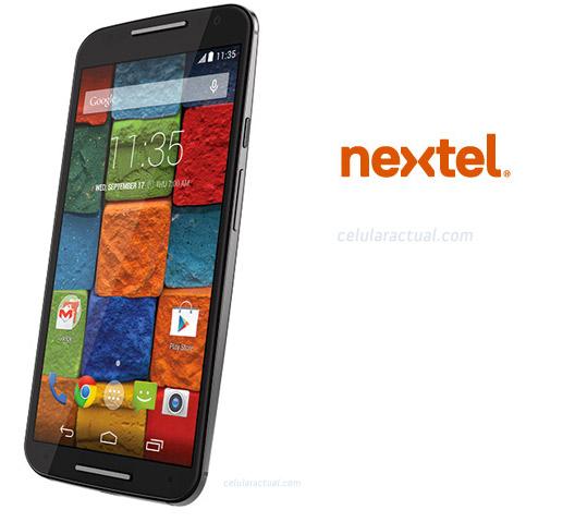 Moto X 2014 Segunda generación Nextel México