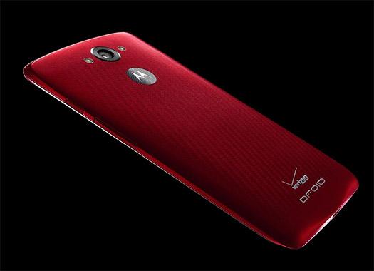 Motorola DROID Turbo para Verizon oficial render cámara posterior