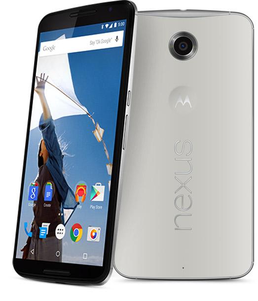 Motorola Nexus 6 oficial pantalla y cámara