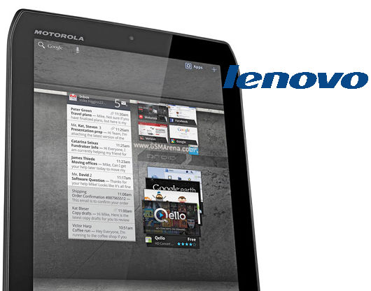 Motorola Tablet Lenovo