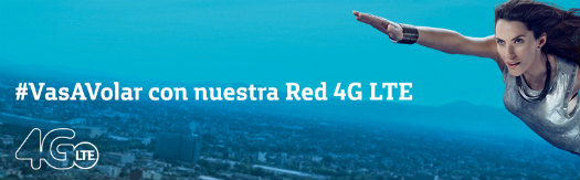 Movistar México red 4G LTE logo