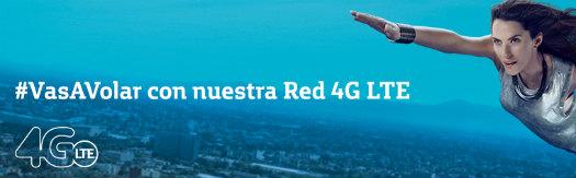 Movistar México red 4G LTE logo