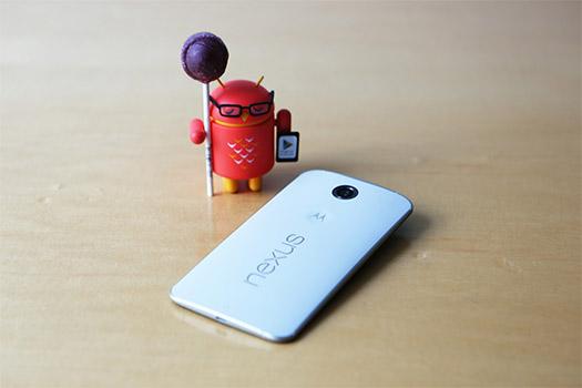 Nexus 6 con Android Lollipop