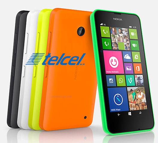 Nokia Lumia 630 con Telcel