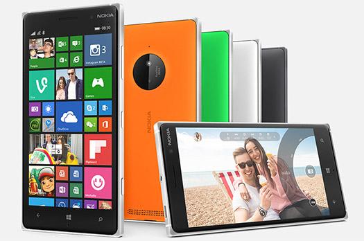 Nokia Lumia 830 accesible con PureView