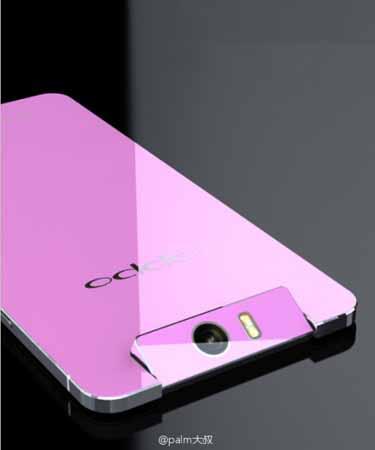 Oppo N3 rosa