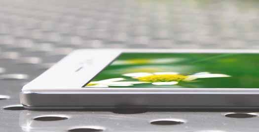 Oppo R5 vista detalle lateral