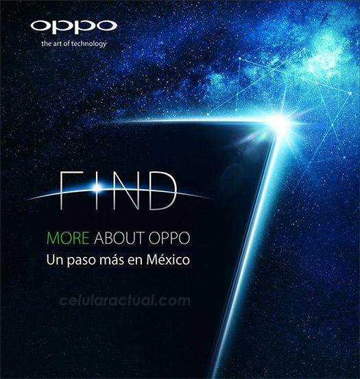 Oppo Find 7 en México el 22 de octubre