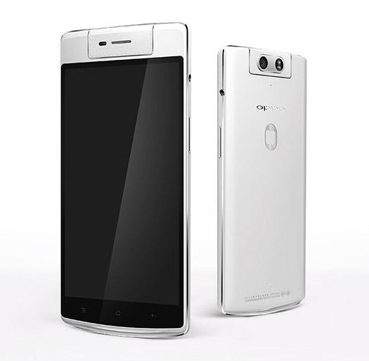 El Oppo N3 pantalla y parte posterior