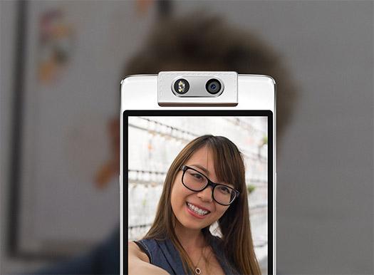El Oppo N3 cámara gira automáticamente en las Selfies