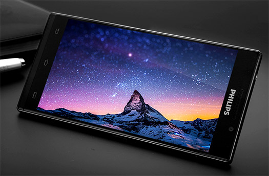Philips I966 Aurora pantalla cielo