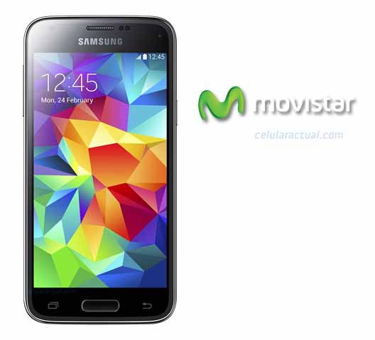 Galaxy S5 mini con Movistar