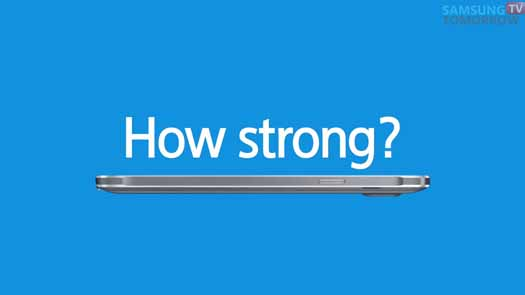 Samsung muestra dureza