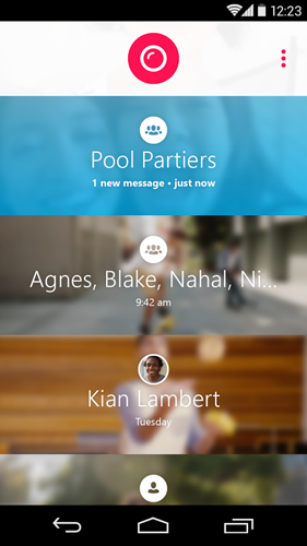 Llega Skype Qik nueva app para mensajería de video