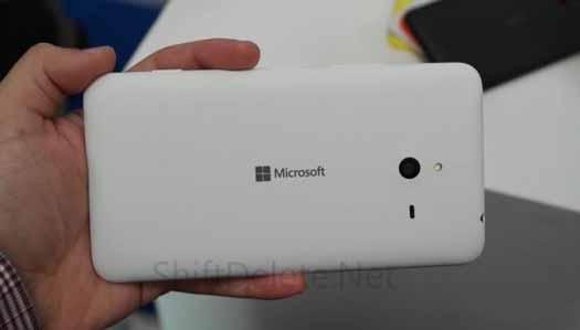 Microsot Lumia 1330 blanco filtrado