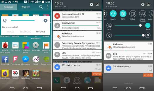 Android Lollipop corriendo en G3
