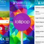 Así es el Galaxy S5 con Android 5.0 Lollipop versión final
