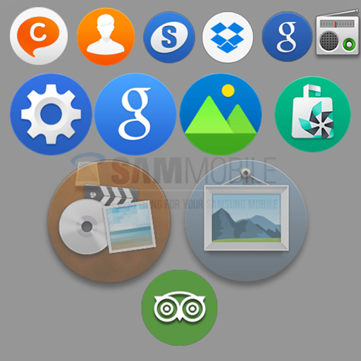 Iconos en Tizen OS