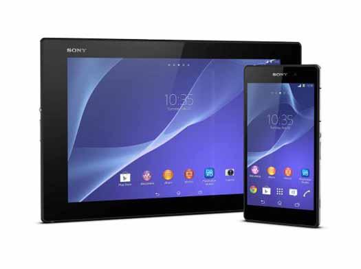 Xperia Z2 y Xperia Z2 tablet