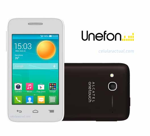 Alcatel Pop D1 con Unefon