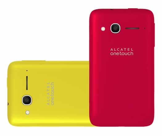 Alcatel Pop D1 colores