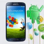 Galaxy Note 3, Note 4, Galaxy S4 y S5 LTE-A recibirán Android Lollipop a inicios del 2015