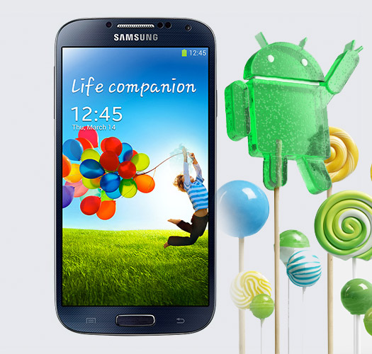 Galaxy S4 con Android 5.0 Lollipop