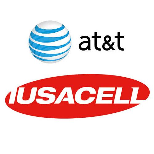 Logotipos compañías AT&T Iusacell
