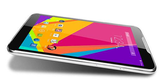 Blu Studio 7.0 pantalla recostado color blanco