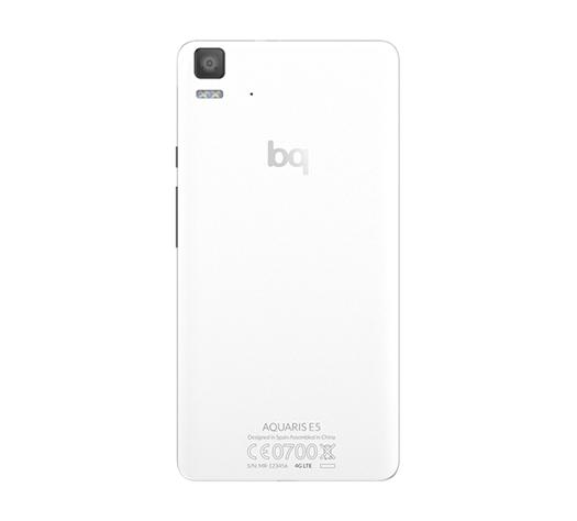 Bq Aquaris E5 4G posterior