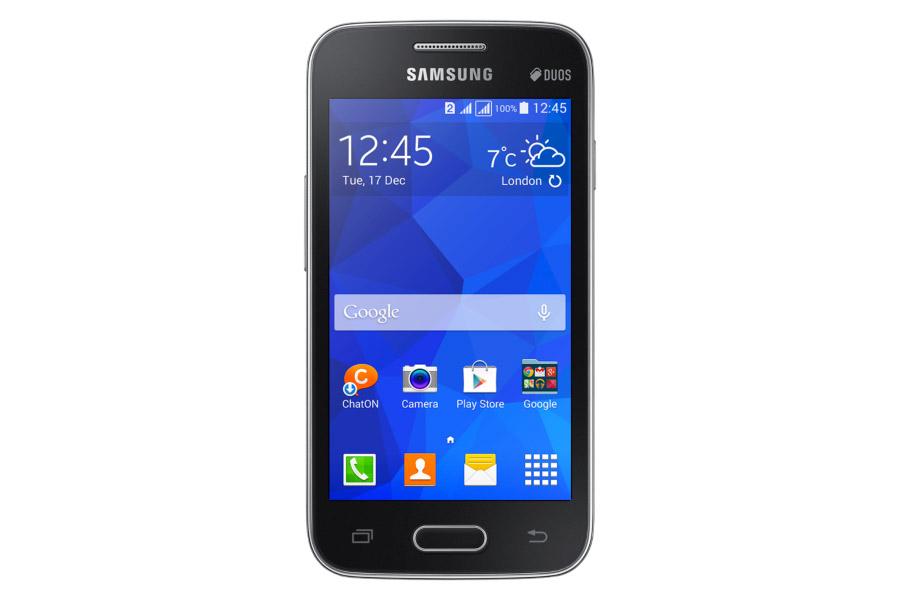 403d8c72b3c Samsung Galaxy Ace 4 Lite Duos SM-G313ML color negro pantalla frente ...
