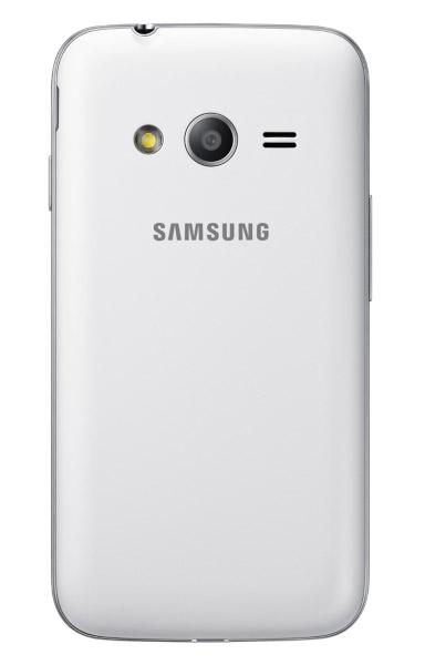 c50d8091314 Samsung Galaxy Ace 4 Lite Duos SM-G313ML color negro cámara posterior.  Samsung ...
