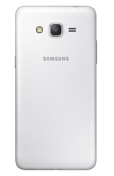 Samsung Galaxy Grand Prime SM-G530H color blanco posterior cámara