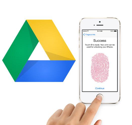 Google Drive con Touch ID