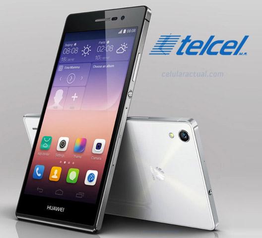 Huawei Ascend P7 en México con Telcel