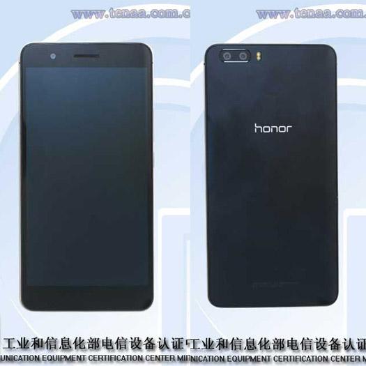 Huawei Glory 6 Plus pantalla y cámara trasera Doble de 8MP cada una