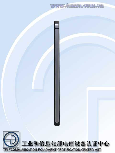 Huawei Glory 6 Plus espesor de lado