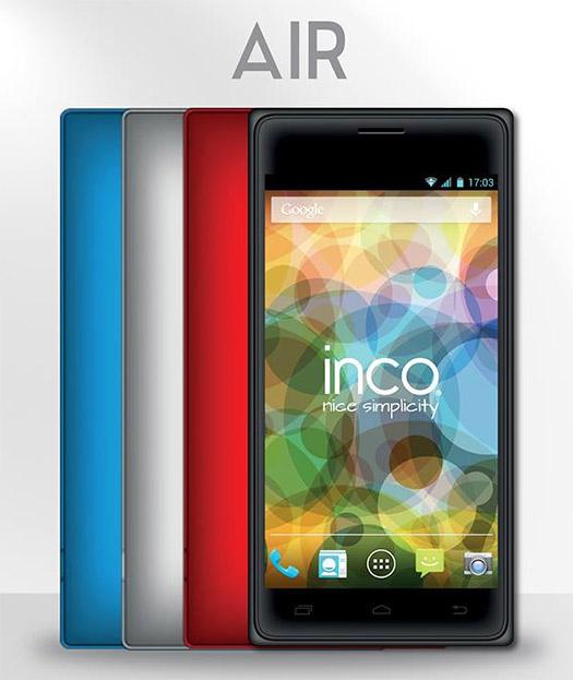 Inco Air en México colores