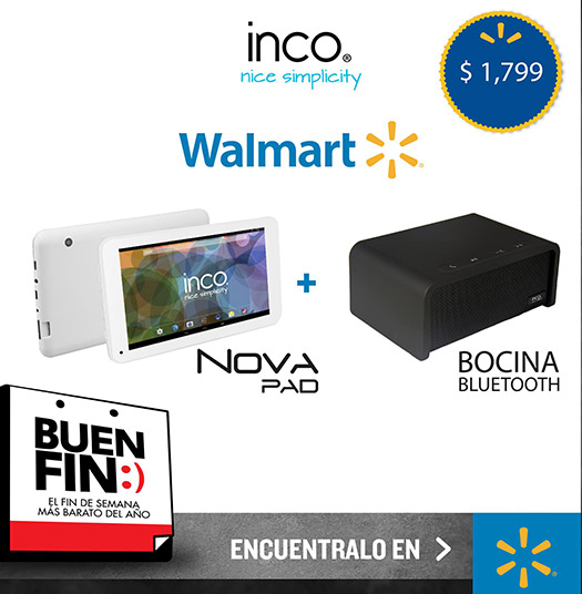 Inco Nova Pad Buen Fin 2014