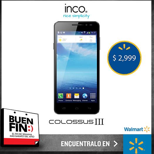 Inco Colossus III promoción Buen Fin 2014