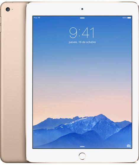 iPad Air 2 color Dorado