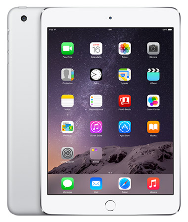 iPad mini 3 color Plateado