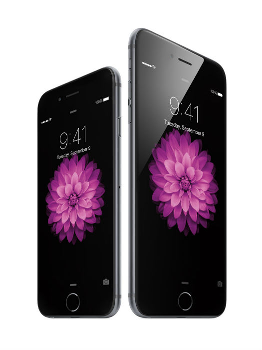 iPhone 6 Plus y iPhone 6 color gris espacial