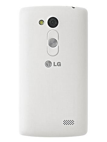 LG L70 Fino D290 parte posterior con cámara y botón trasero