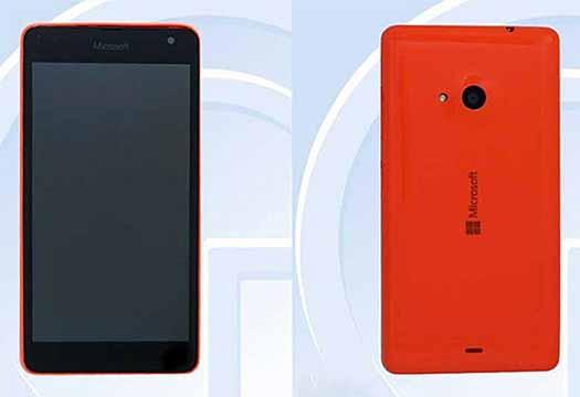 Lumia RM 1090 en TENNA