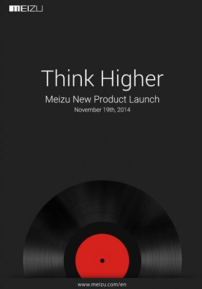 Meizu invitación 19 de noviembre MX4 Pro